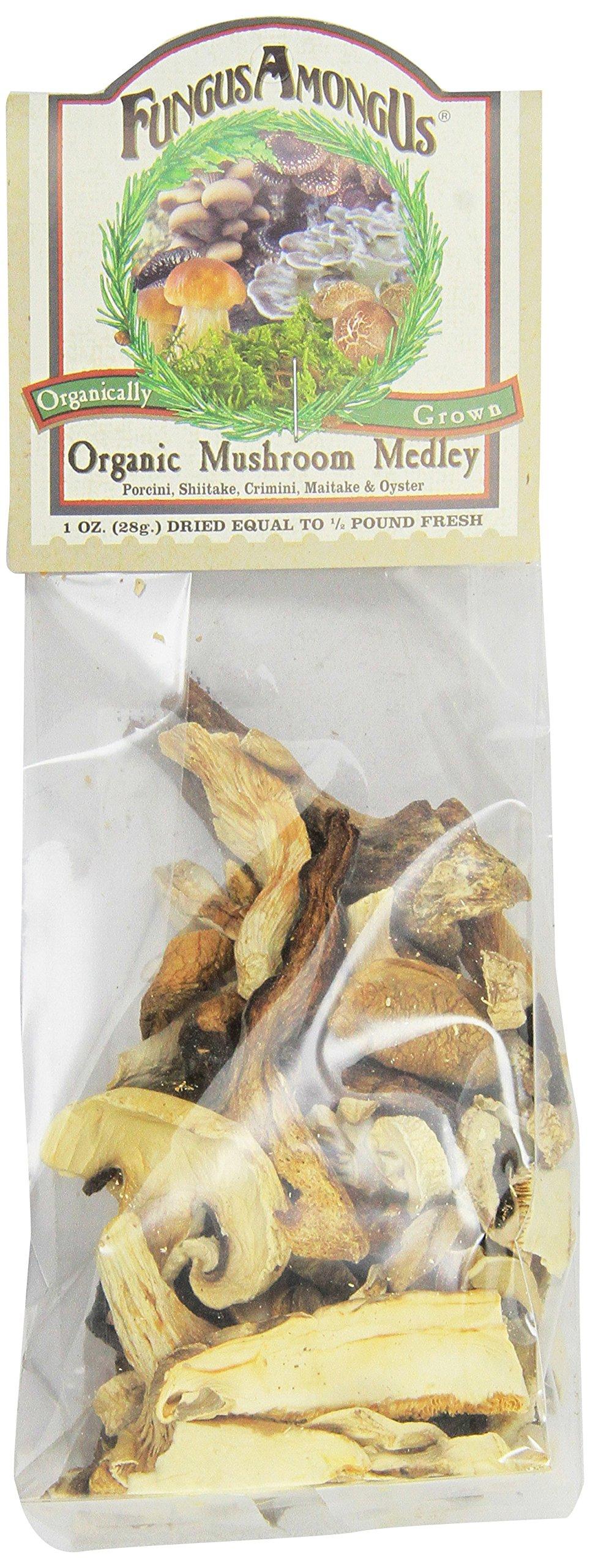 Fungus Among Us Organic Dried Mushroom Medley ( 8x1 OZ)