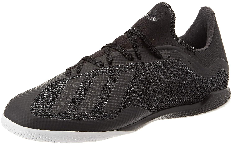 Schwarz(Negbás Negbás Ftwbla 000) adidas Herren X Tango 18.3 in Futsalschuhe, Fluoreszierend gelb schwarz
