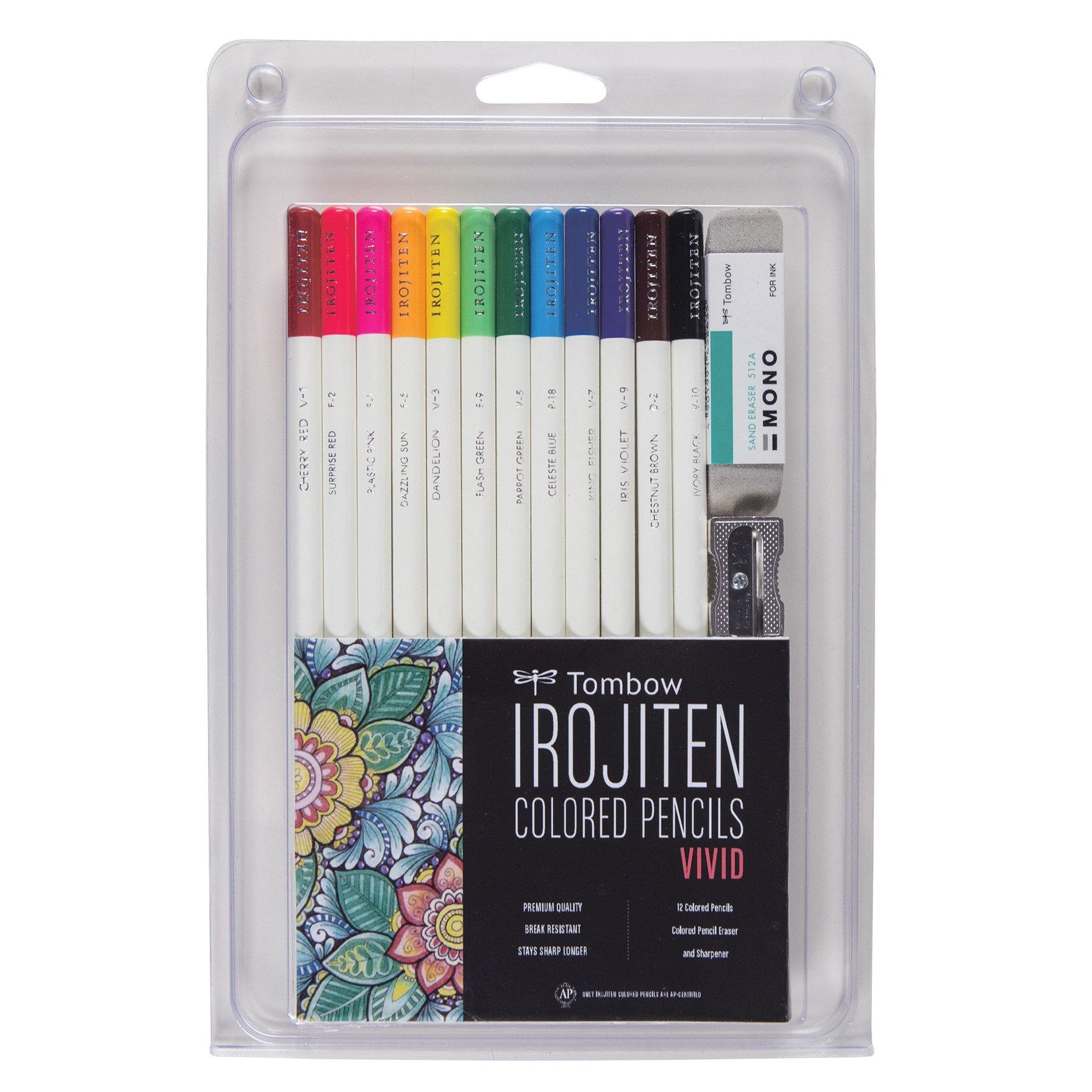 Tombow Irojiten lapices de colores set de 12