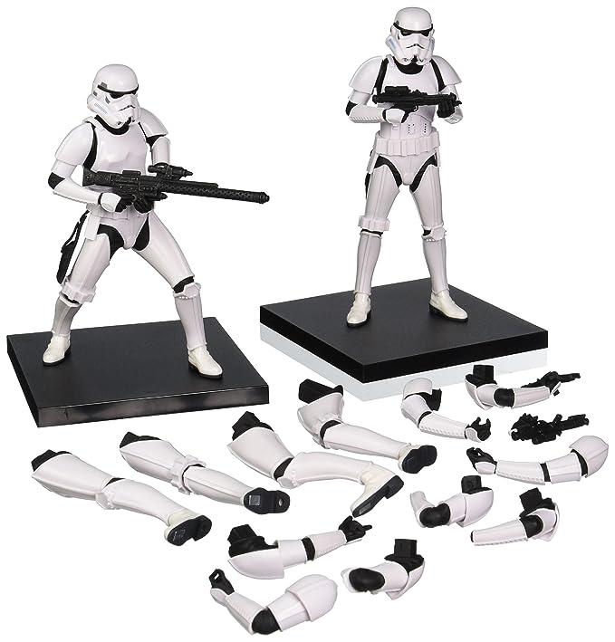 Amazon.com: Kotobukiya Star Wars: Stormtrooper ArtFX + ...