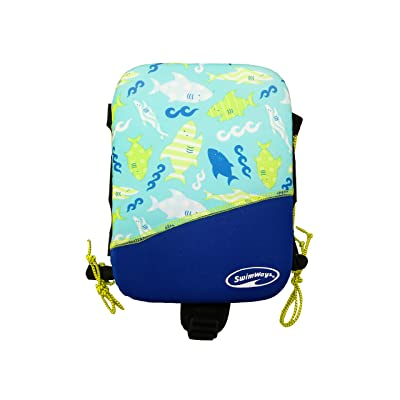 SwimWays Power Swimr Medium - Blue Shark: Toys & Games