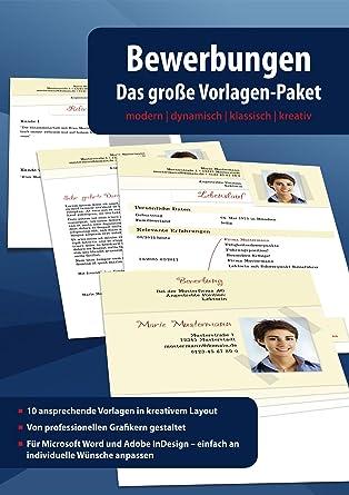 Bewerbungen - Das Große Vorlagen Paket - Modern - Dynamisch