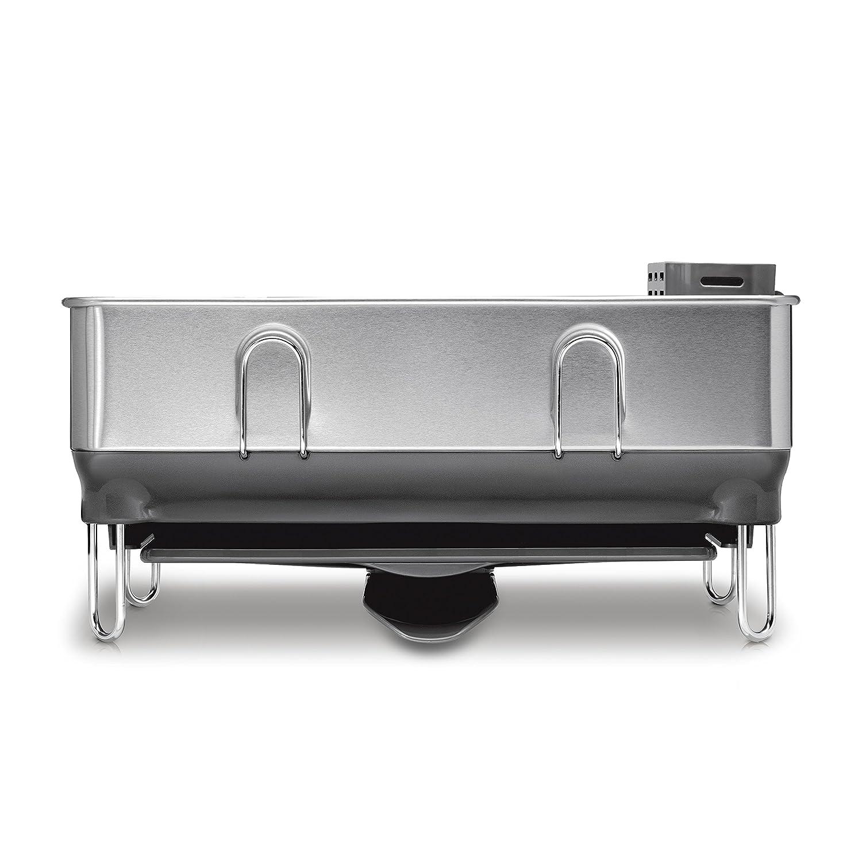 simplehuman Compact Steel Frame scolapiatti Grigio