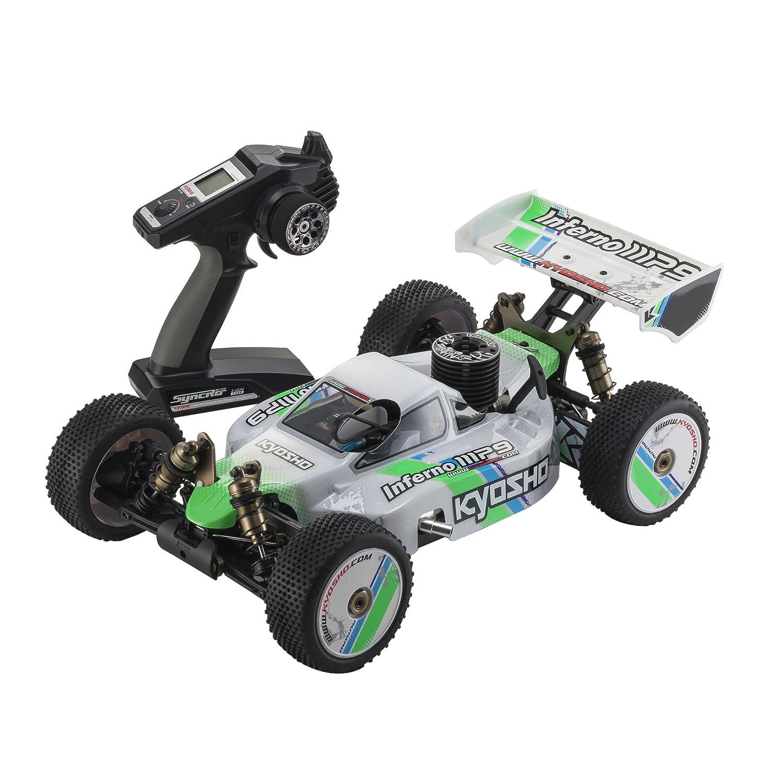 Amazon Kyosho Inferno MP9 TKI Ready Set RTR Nitro Powered Racing Buggy 1 8 Scale Toys & Games