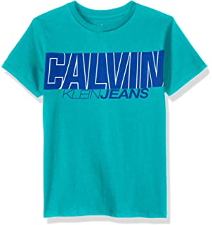 def22abf763 Amazon.com  Calvin Klein Boys  New Icon V-Neck Tee Shirt  Clothing