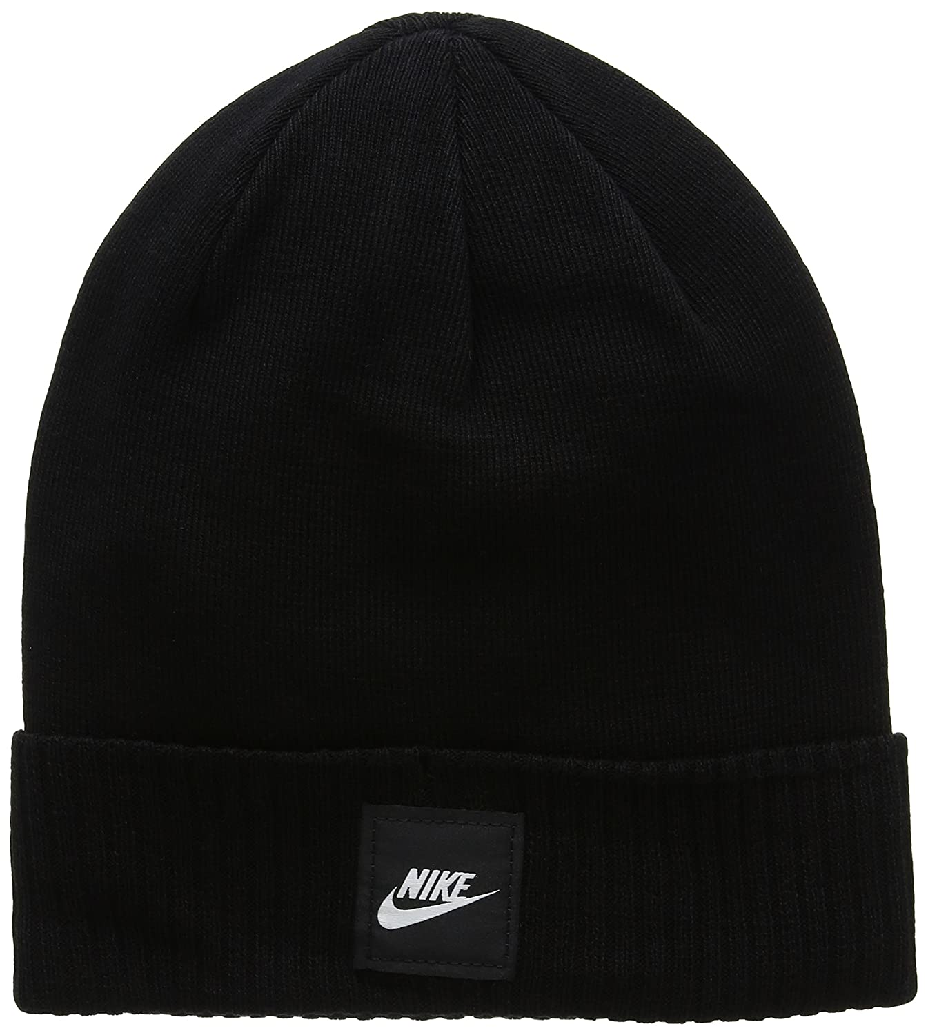 Amazon.com  Nike Futura Knit Hat Black Size One Size  NIKE  Sports    Outdoors 8f2871182d5