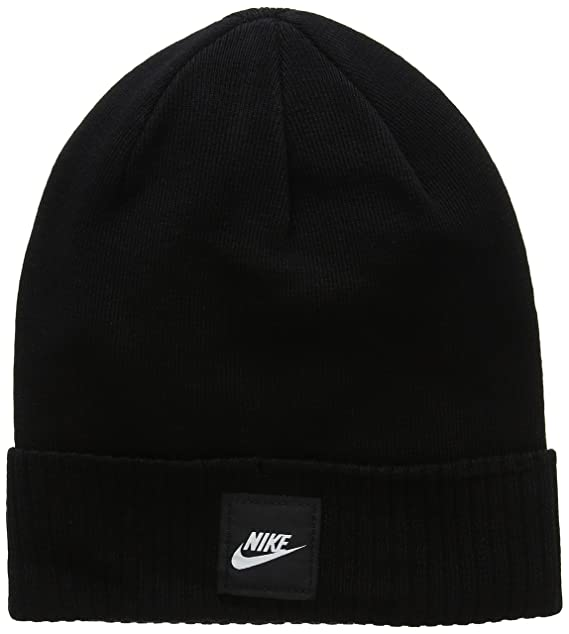 a6ecffc5fd262 Amazon.com  Nike Futura Knit Hat Black Size One Size  NIKE  Clothing