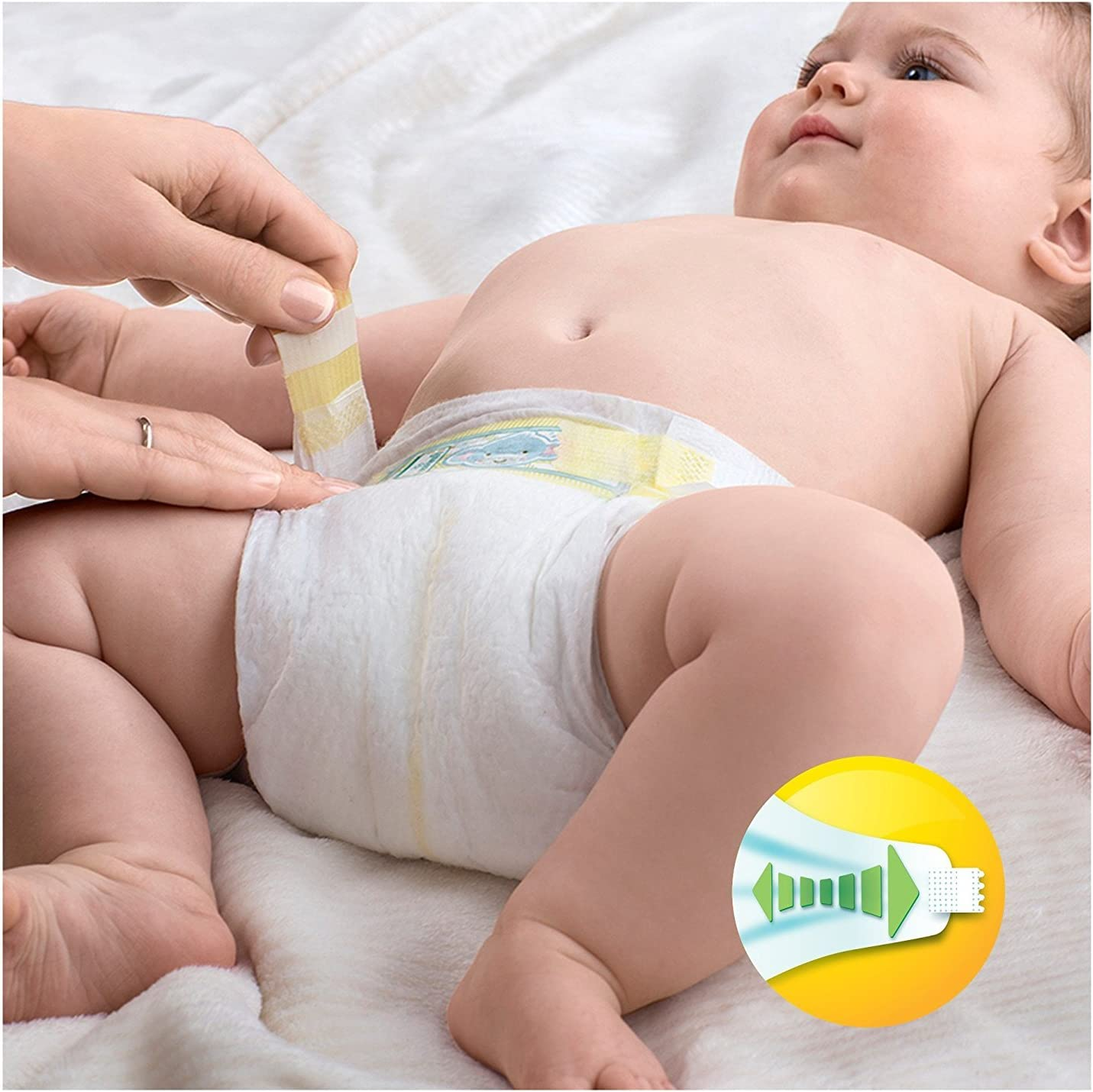 Pampers Active Fit Couches Taille 3/ Essential Pack 120/ par paquet