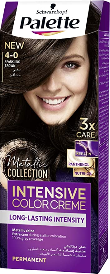 Schwarzkopf Palette Intensive Hair Colour Cream With Liquid ...