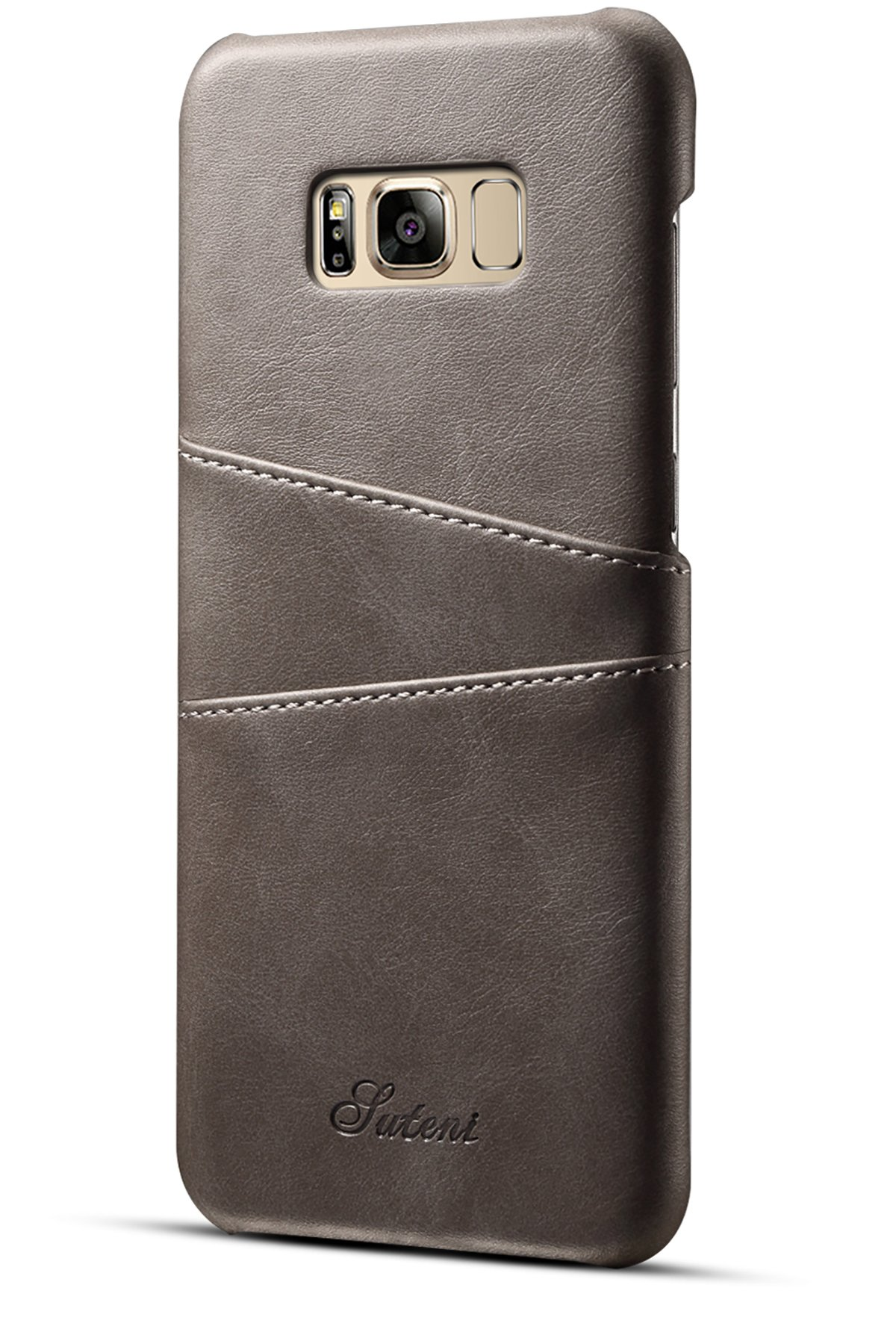 XRPow Samsung Galaxy S8 Plus Wallet Phone Case, Slim Leather Wallet Case Back Cover With Credit Card Holder