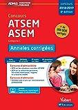 Concours ATSEM et ASEM - Catégorie C - Annales corrigées - Concours 2018