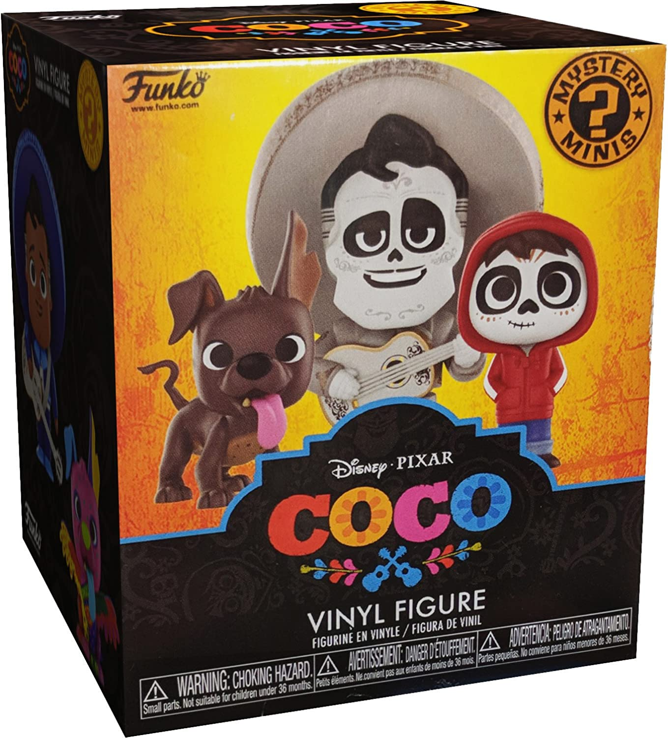 Funko Mystery Mini: Disney//Pixar Collectible Figure 22883 Accessory Toys /& Games Coco One Mysery Figure