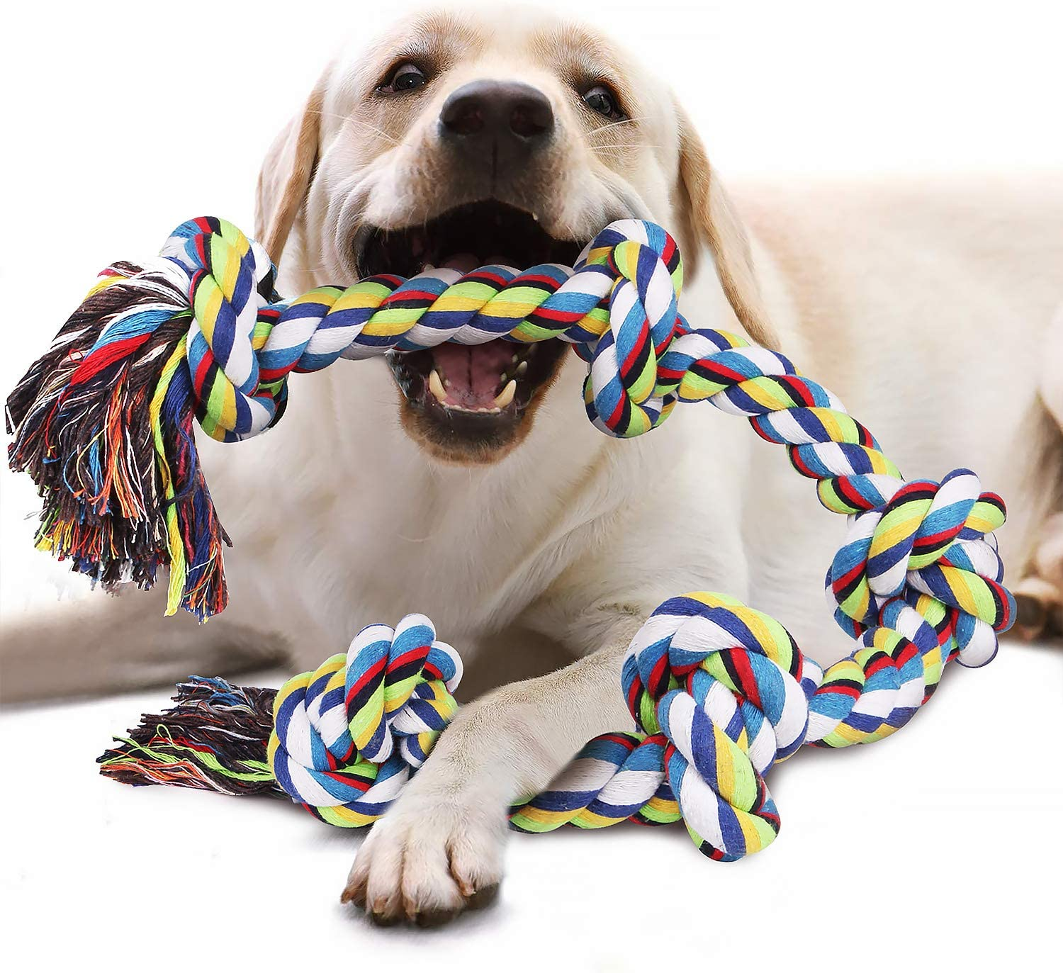 Viewlon Indestructible Rope Toy