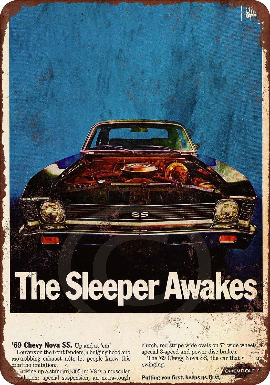 1969 Chevrolet Corvette Metal Sign Vintage Look Reproduction