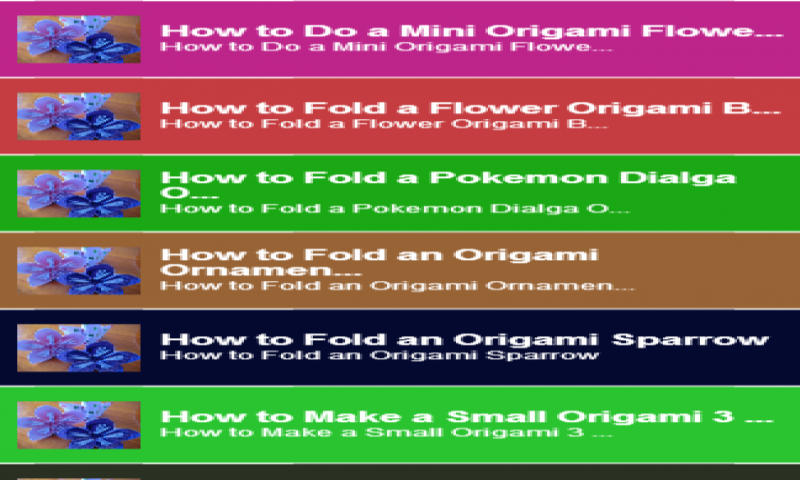 amazoncom origami tutorial guide appstore for android