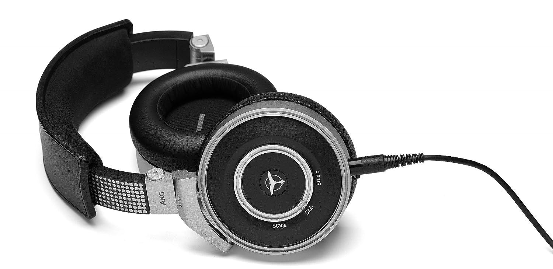 AKG K267 Tiesto - Auriculares para DJ (Circumaural, Diadema, 3500 mW, Alámbrico, 3.5 mm (1/8