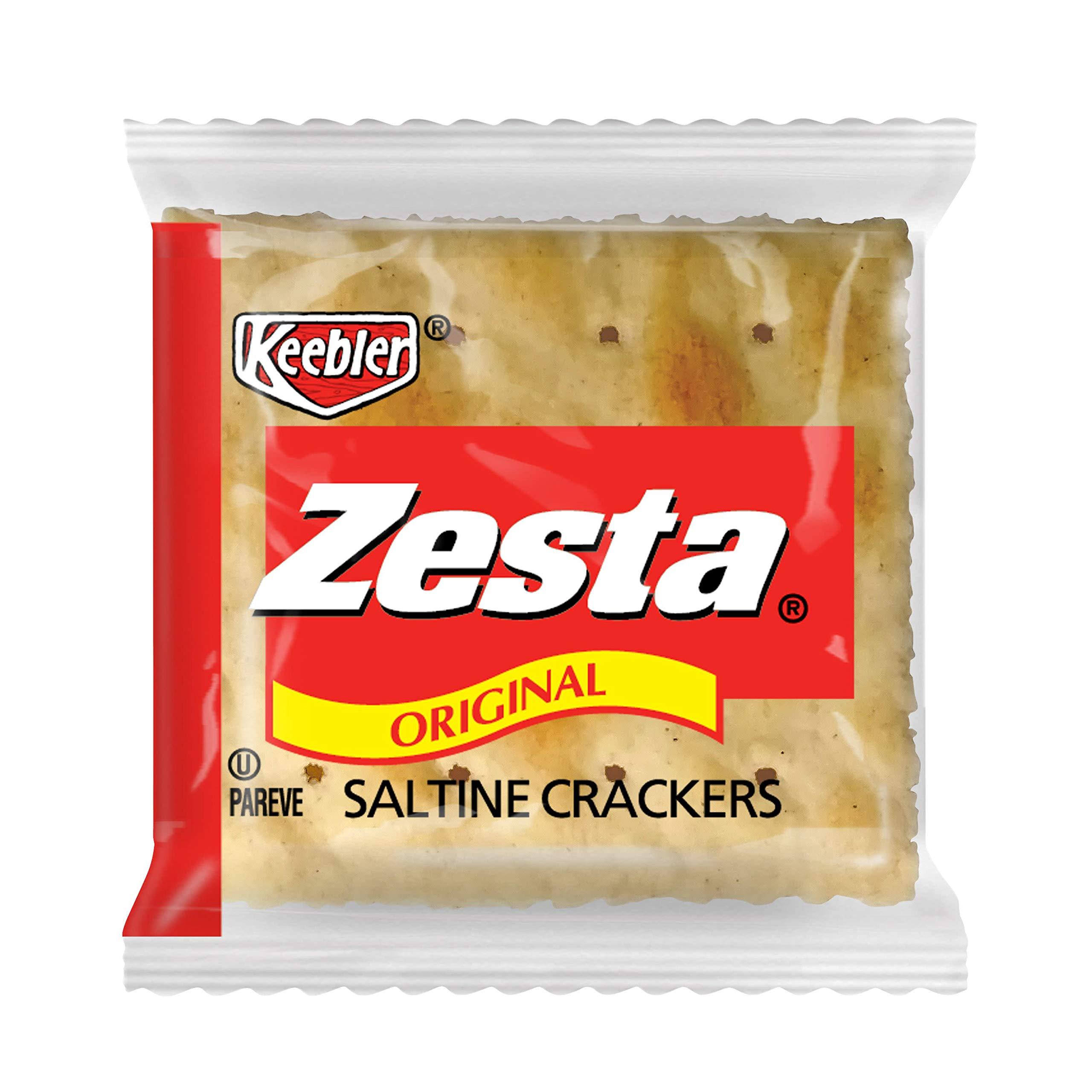 Keebler, Zesta, Saltine Crackers, Original, Single Serve, 0.20 oz(Pack of 300) by Zesta