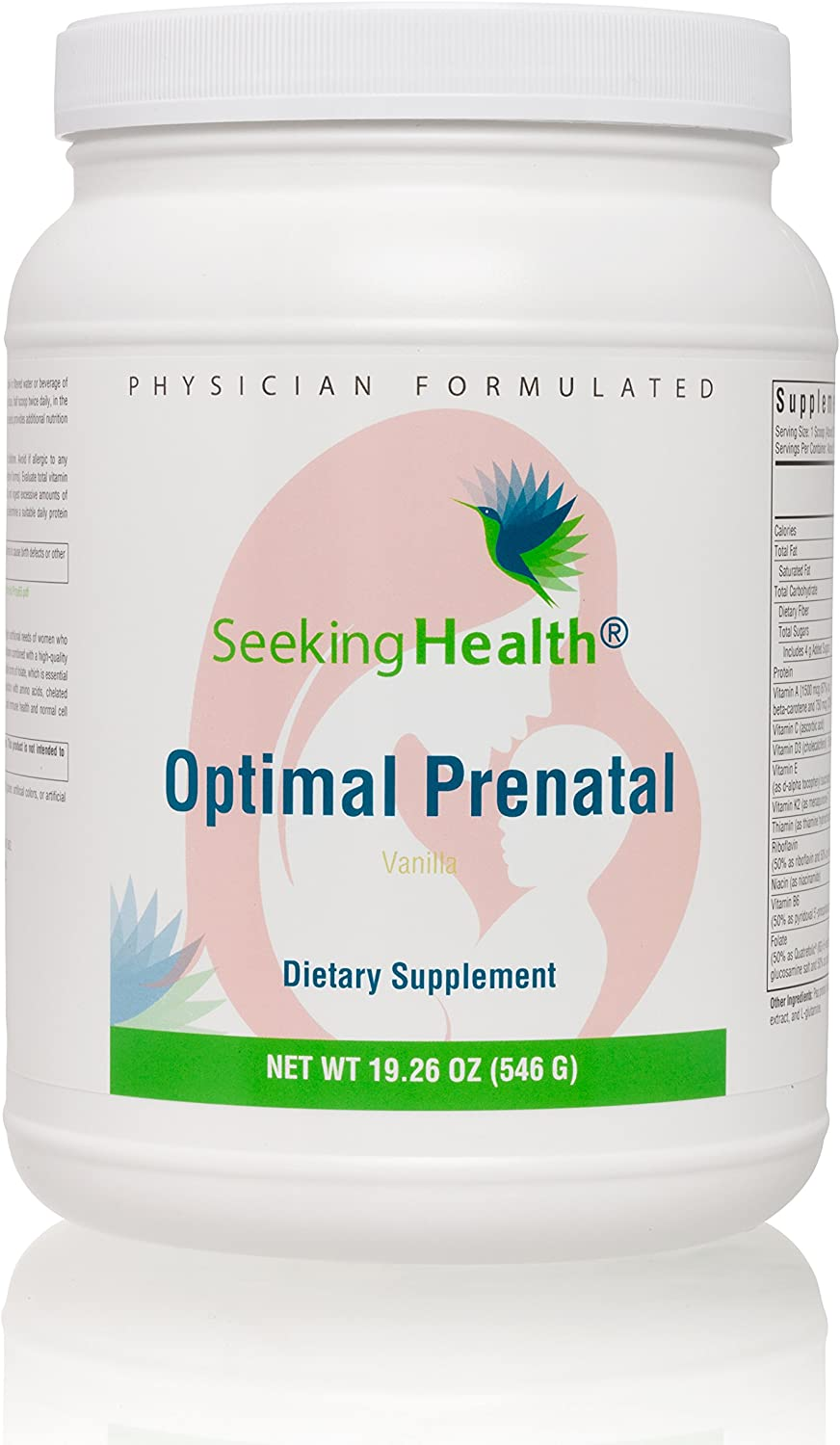 Seeking Health Optimal Prenatal Protein Powder