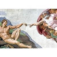 Quadro Decorativo Michelangelo 55X100