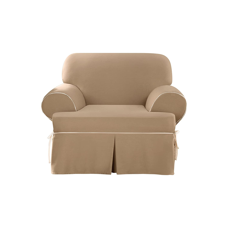 Amazon Sure Fit SF e Piece CVC Contrast Cord T Cushion