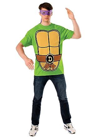 Amazon.com: Ninja Turtle Camisa Disfraz – Grande – Pecho ...