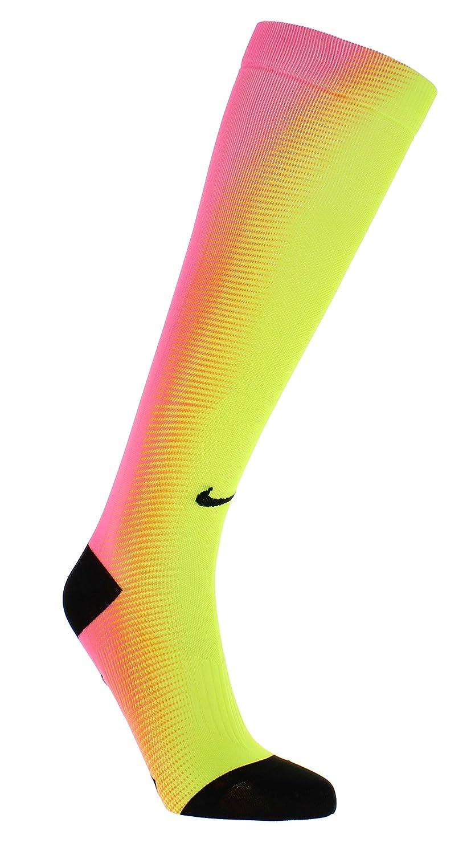Calcetines de running Nike Dri-Fit Elite Digital Ink OTC (10-11.5 B (M) US Women / 8-9.5 D (M) US Men, Bright Mango / Black / Volt): Amazon.es: Deportes y ...