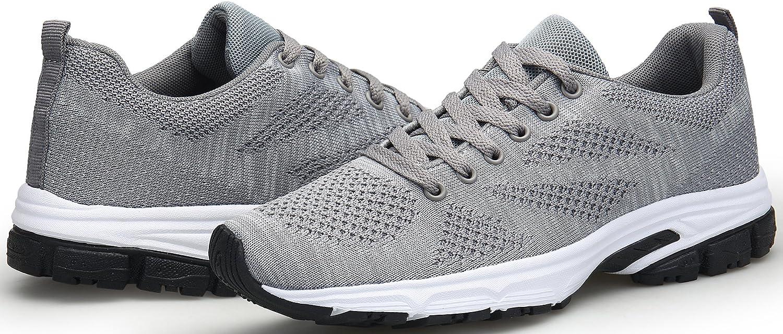 KOUDYEN Zapatillas Deporte Hombres Mujer Gimnasio Running Zapatos para Correr Transpirables Sneakers