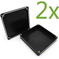 Incutex 2X wasserdichte Aufbewahrungsbox aus Kunststoff Schatulle für GPS Tracker TK104, TK5000, TK105, TK116
