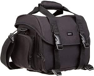 AmazonBasics Large DSLR Gadget Bag, Gray Interior