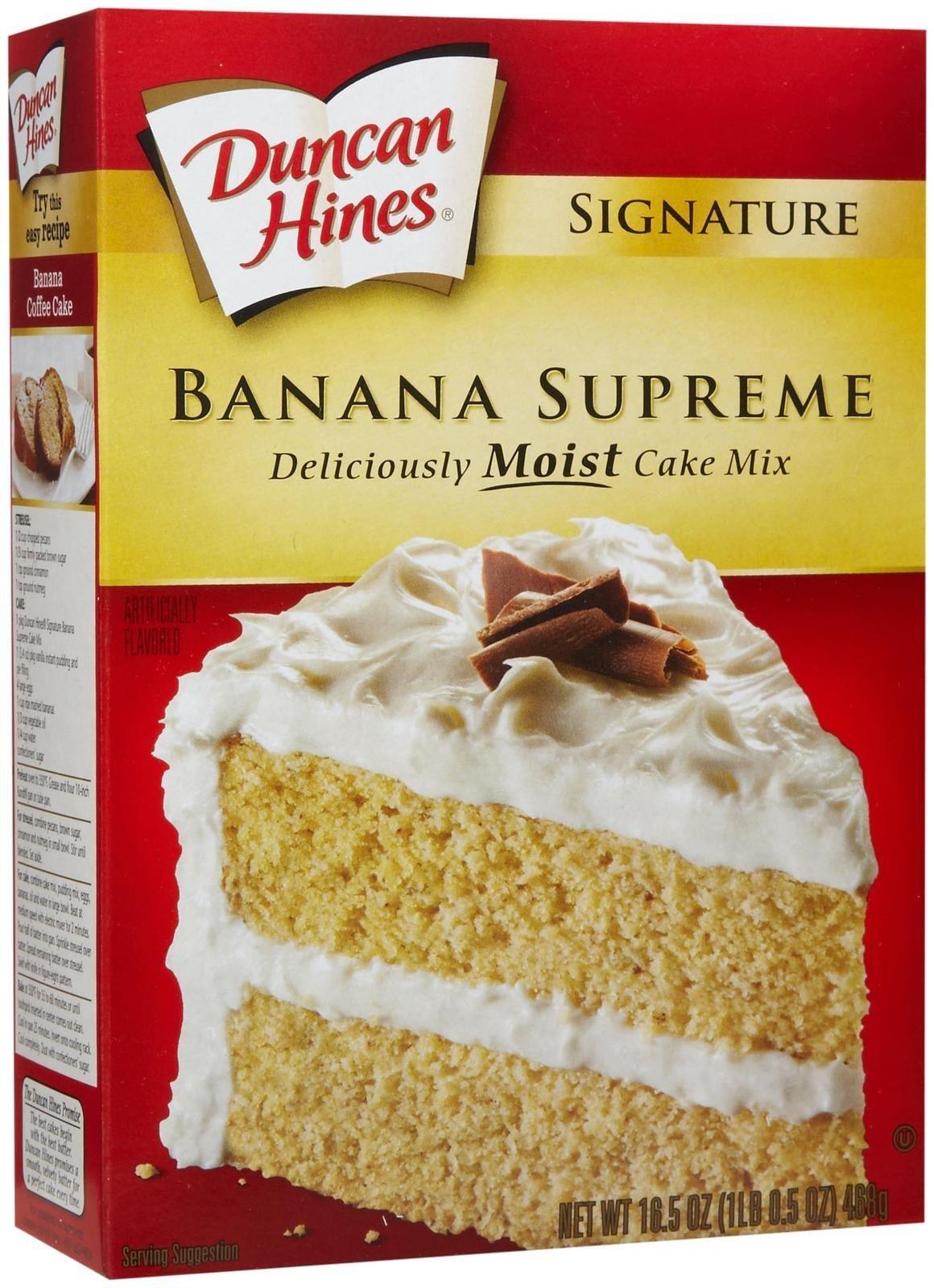 Duncan Hines Banana Cake Mix Where To Buy