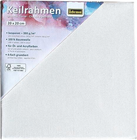 10er Pack Leinwand auf Keilrahmen 380 g//m² Baumwolle Kostenloser Versand