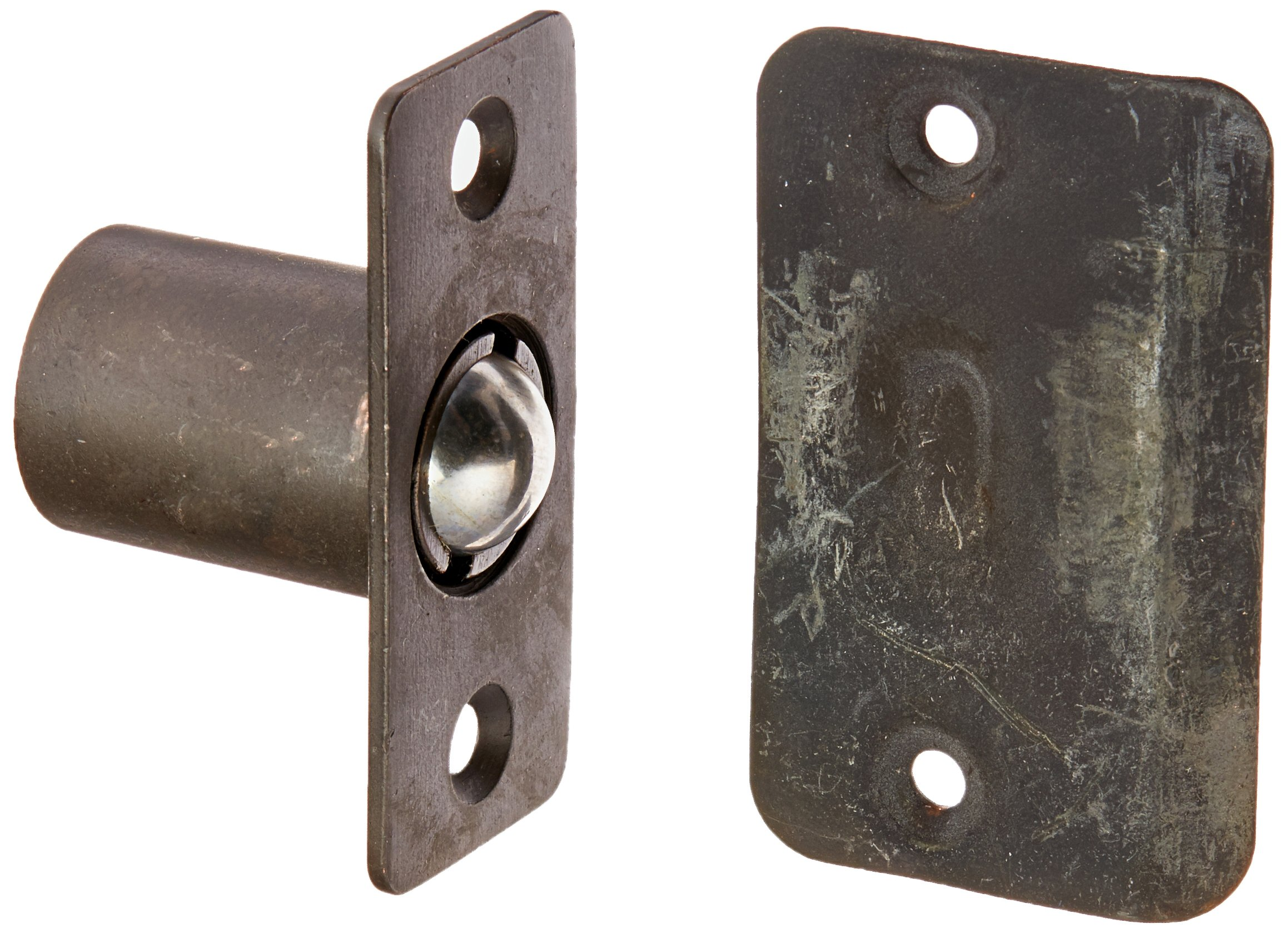 Cal Royal BC9710B Adjustable Ball Catch with Full Lip Strike Plate, Oil Rubbed Bronze