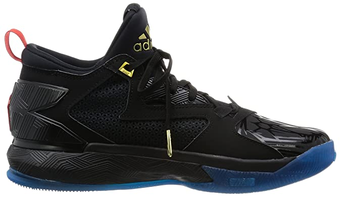 best sneakers fb96d da738 Adidas D Lillard 2, Year Of The Monkey-black red blue, 7.5 M Us   Amazon.co.uk  Shoes   Bags