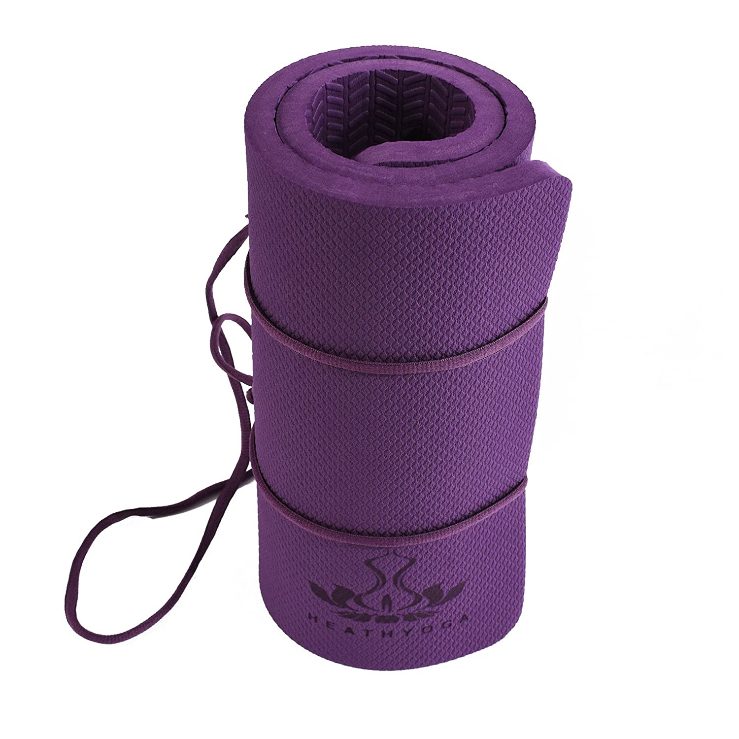 Great for Knees and Elbows While Doing Yoga and Floor Exercises 26x10x/½ Heathyoga Yoga Knee Pad Yard Work and Baby Bath Kneeling Pad for Gardening