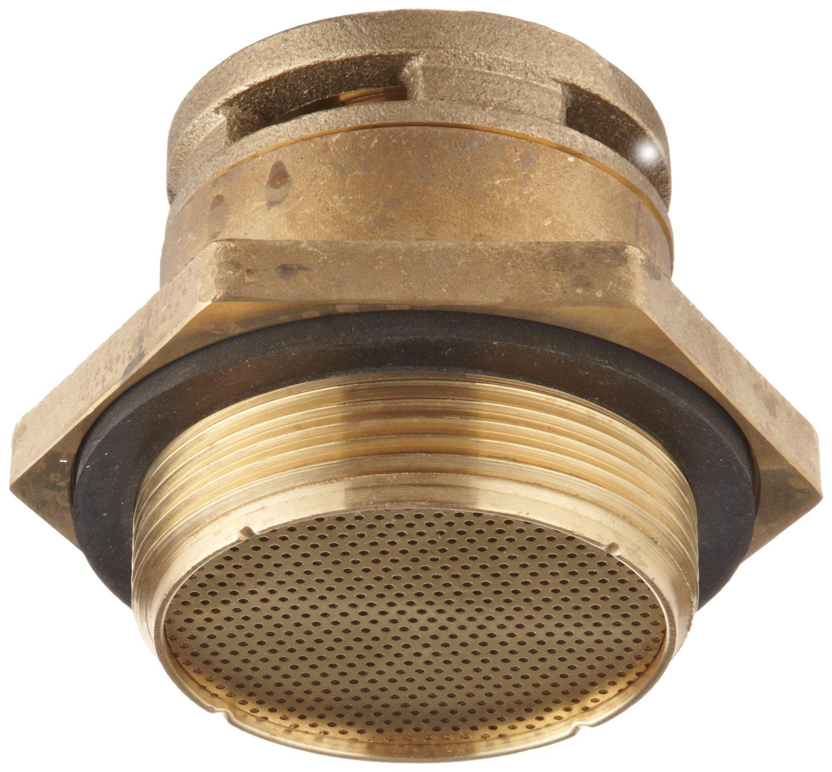 Justrite 08101 2'' Npt Brass Justrite Drum Vent/Access