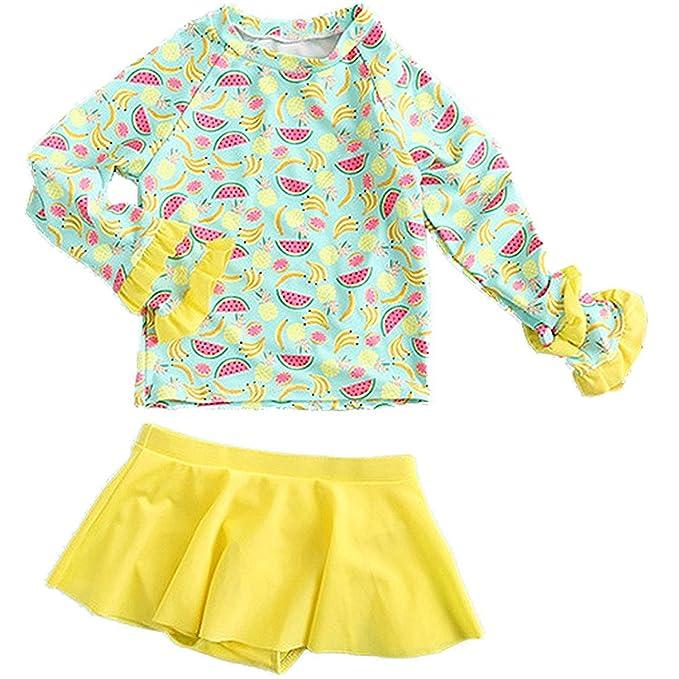 Amazon.com: jojobaby Baby Kids – Conjunto de niña de manga ...