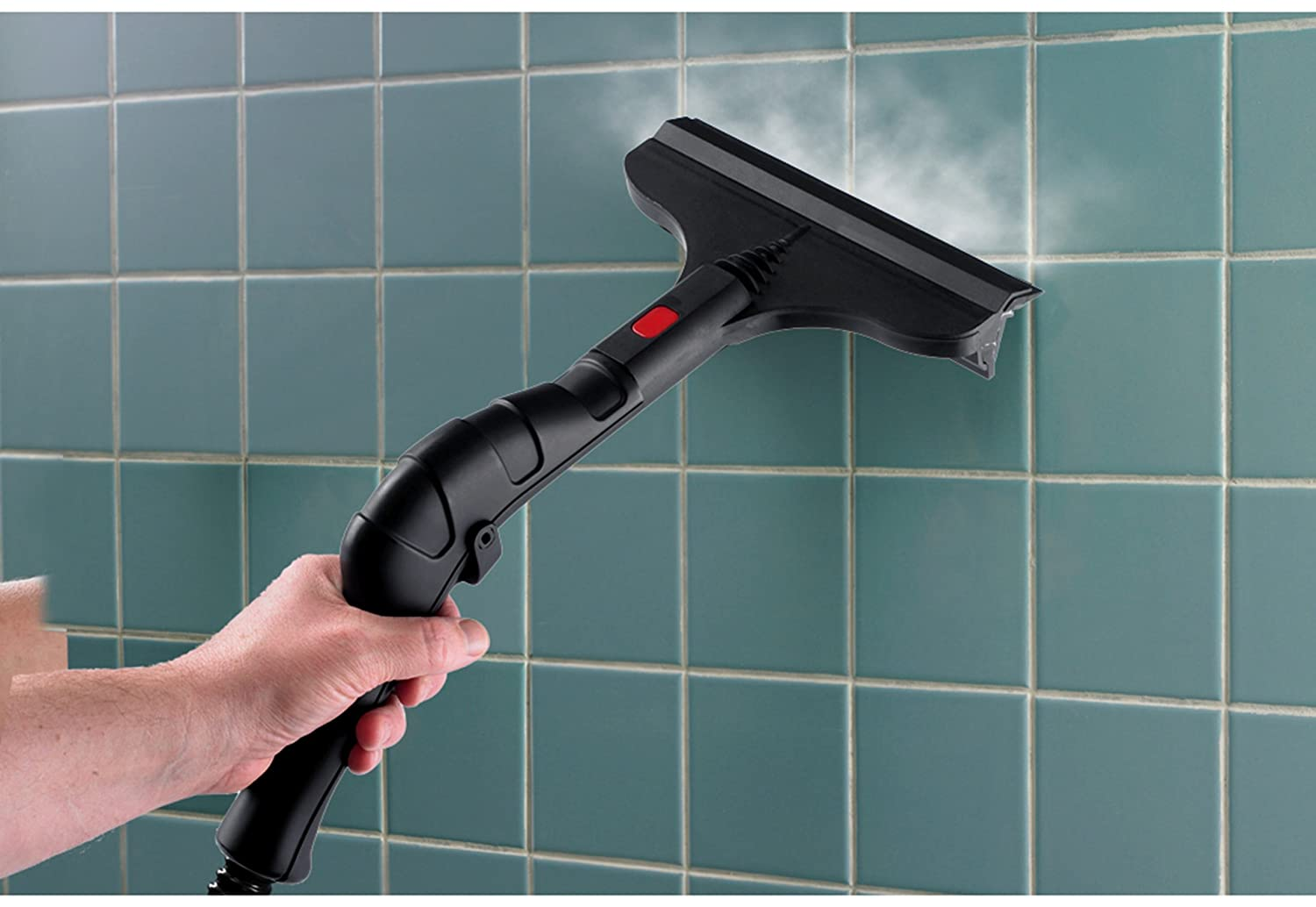 steam cleaner for bathroom tiles wagner 915 0282014 1 500 watt on demand power steamer 24280