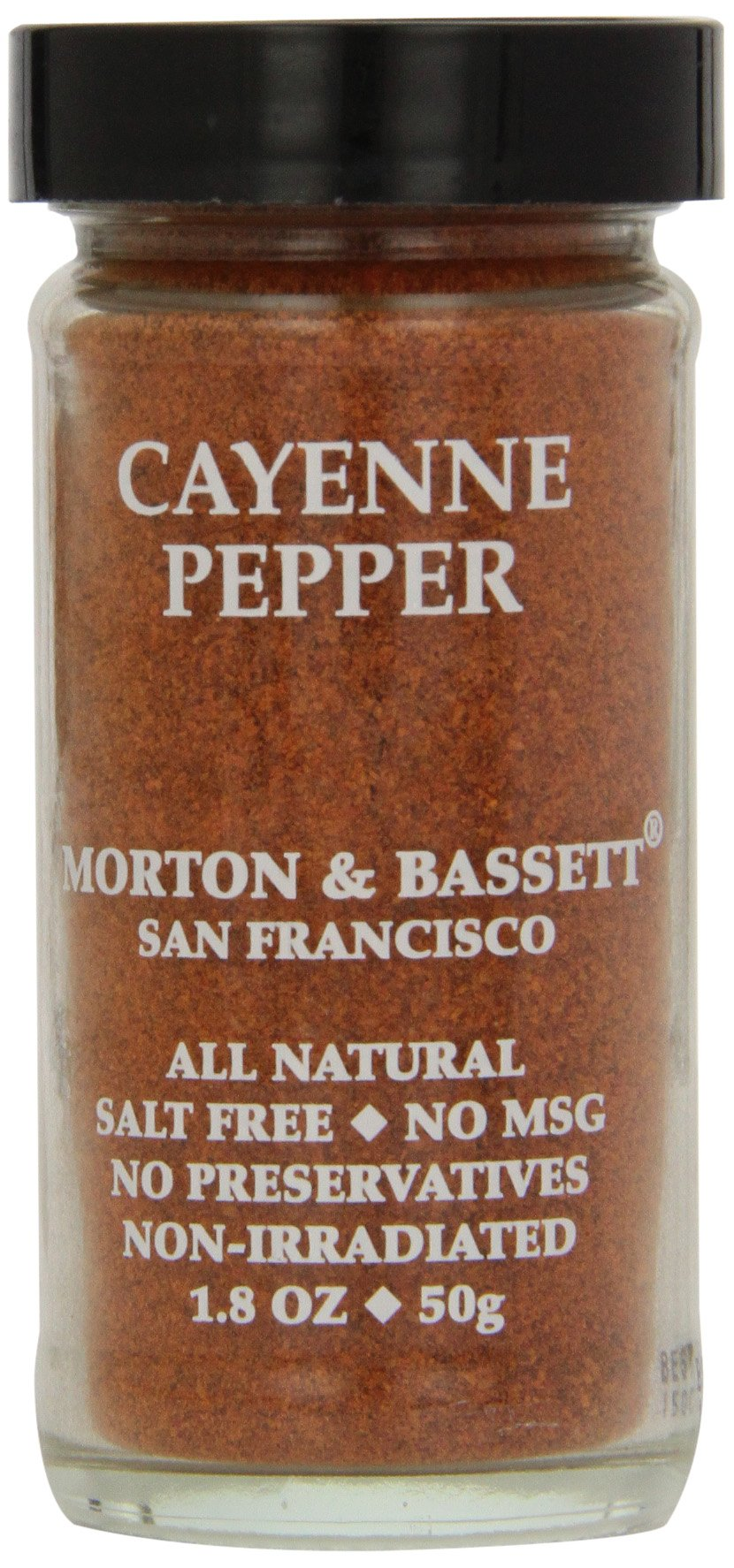 Morton & Basset Spices, Cayenne Pepper, 1.8 Ounce (Pack of 3)