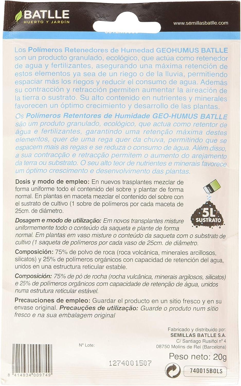 Batlle Polimeros retenedores de humedad, 5 l: Amazon.es: Jardín