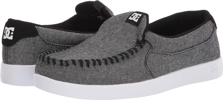 DC Men's Villain 2 Skateboard, Skate Shoe: Shoes