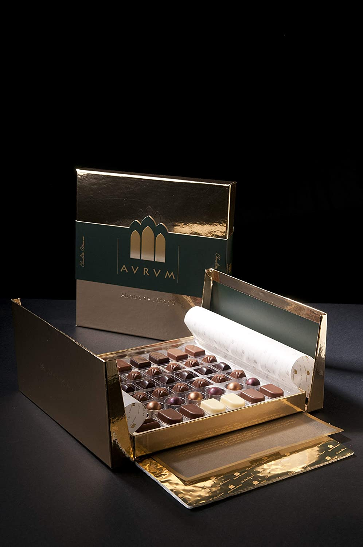 Caja de Bombones de Chocolate Artesano Gourmet