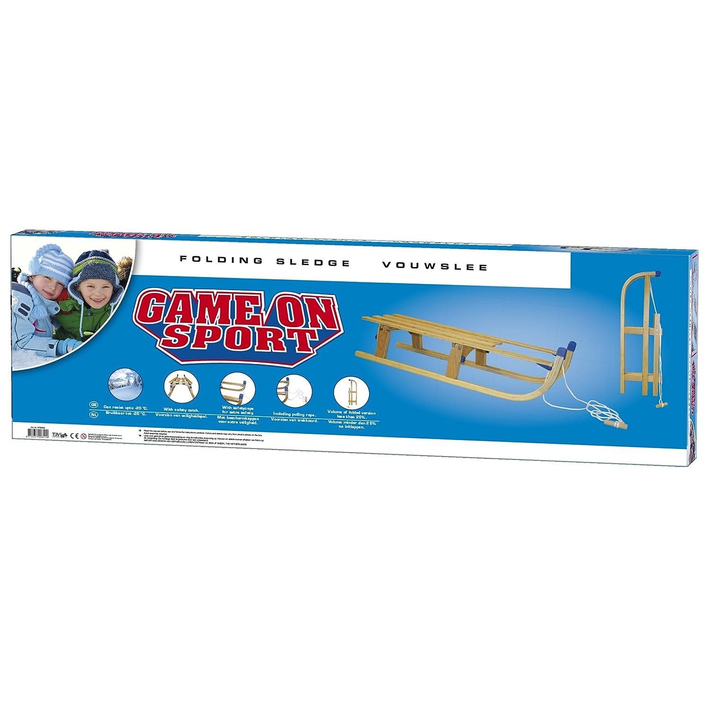 Game On Sport 110 cm Foldable Wooden Sledge