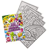 Crayola Epic Book of Awesome, Coloring Book Set, Stocking Stuffers for Girls & Boys, 288 Pages