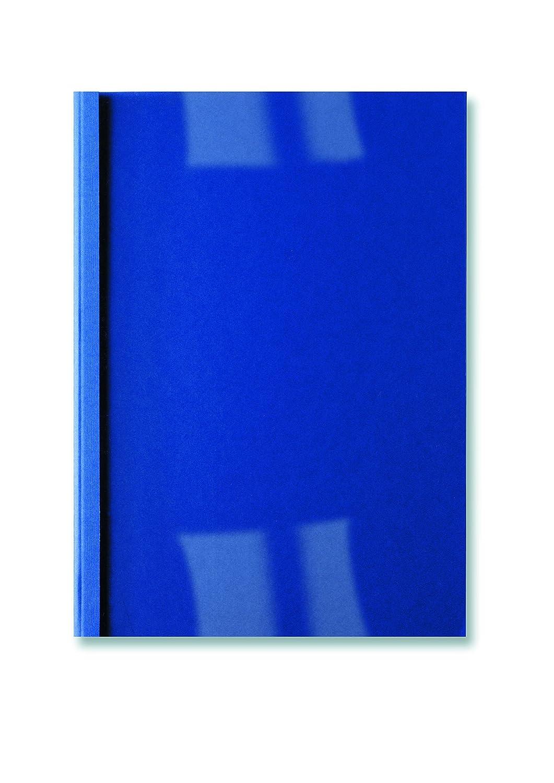 GBC IB451010 LeatherGrain Copertina Rilegatura Termica, 3 mm, Blu, 100 Pezzi ACCO Brands 766232