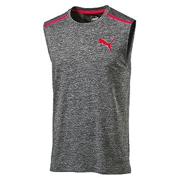 bf48893f627 Puma Tech Sleeveless T-Shirt: Amazon.co.uk: Sports & Outdoors