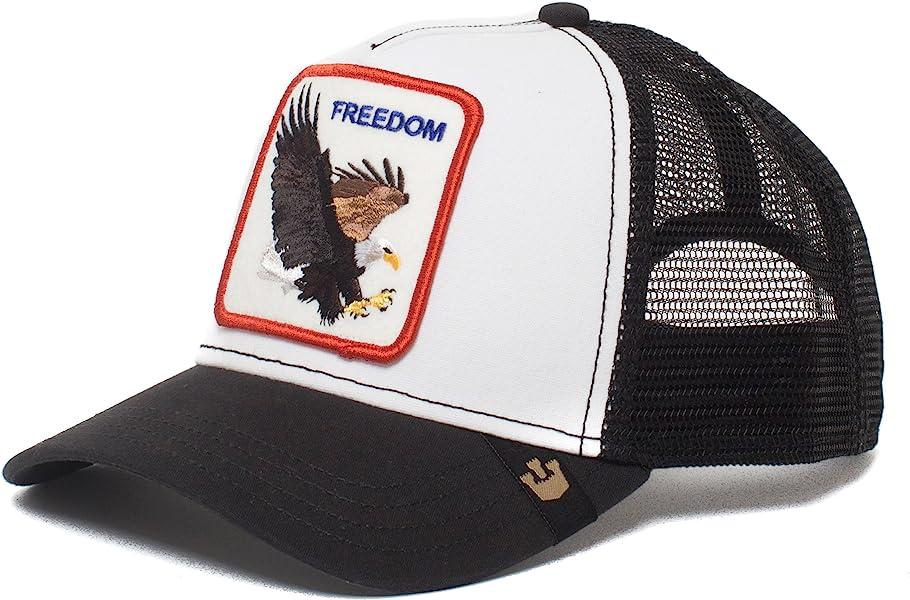 b56ef454 Goorin Bros. Animal Farm 'Freedom' Eagle Snapback Trucker Hat White