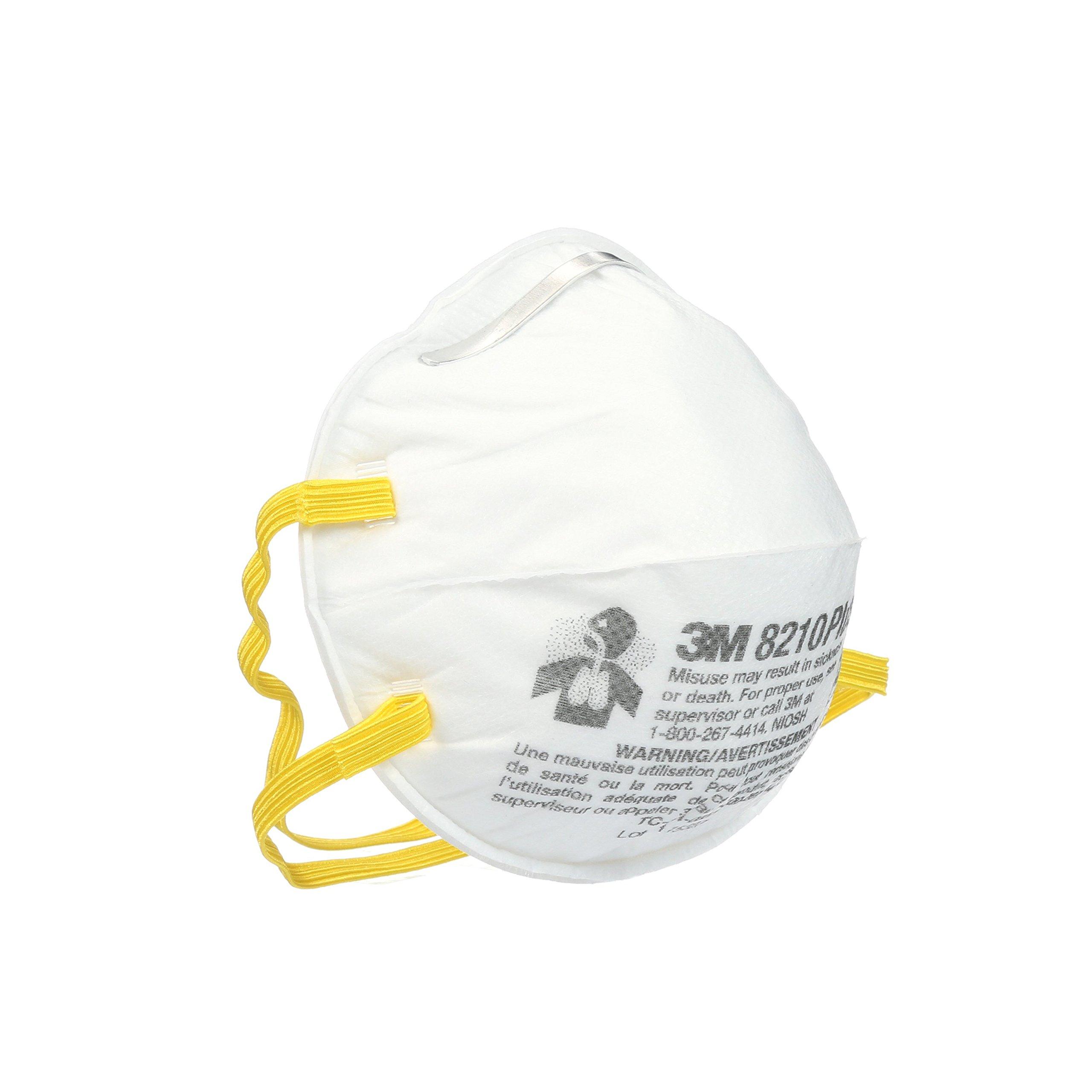 3M 8210 Plus Paint Sanding Dust Particulate Respirators, N95, 20-Pack by 3M (Image #3)