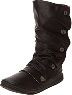 Octave, Bottes Rangers Femme, Marron (Coffee Texas PU 200), 36 EU (3 UK)Blowfish