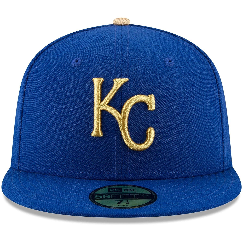 4491154d772 Amazon.com   New Era 59Fifty Hat Kansas City Royals Authentic Alternate Blue  Cap 70346370   Sports   Outdoors