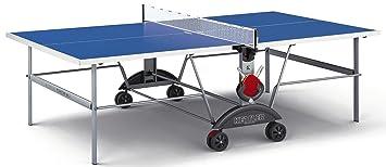 Perfect Kettler Top Star XL Indoor/Outdoor Table Tennis Table, Blue Top